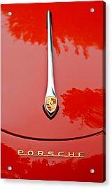 Porsche Hood Emblem -0516c Acrylic Print