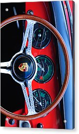 Porsche Iphone Case 1 Acrylic Print by Jill Reger