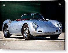 Porsche Spyder 550 Acrylic Print by Peter Tellone