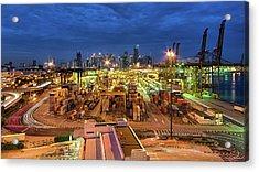 Port Authority Of Singapore, Psa Acrylic Print