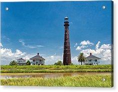 Port Bolivar Lighthouse Acrylic Print