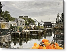 Port Clyde On The Coast Of Maine Acrylic Print by Keith Webber Jr