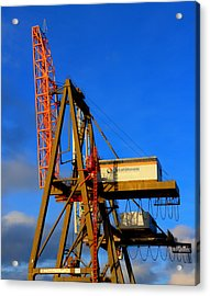 Acrylic Print featuring the photograph Port by David Stine