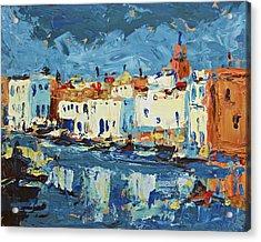 Port De Bizerte Acrylic Print by Brian Simons