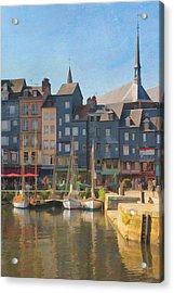 Port D'honfleur Acrylic Print