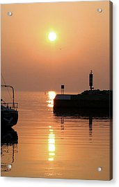 Acrylic Print featuring the photograph Port Elgin by The Art Of Marilyn Ridoutt-Greene