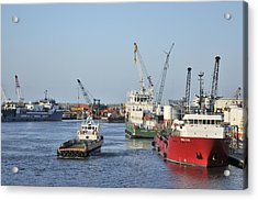 Port Fourchon Acrylic Print