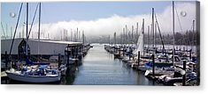 Acrylic Print featuring the photograph Port Kingston Marina by Greg Reed