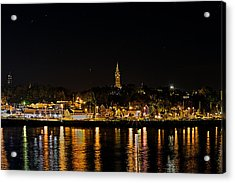 Port Lights Acrylic Print