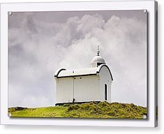 Port Macquarie Nsw Light House 01 Acrylic Print by Kevin Chippindall