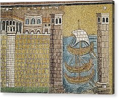 Port Of Classe. 550. Italy. Ravenna Acrylic Print