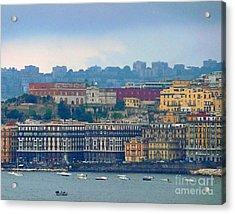Port Of Napoli Acrylic Print