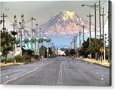 Port Of Tacoma Acrylic Print