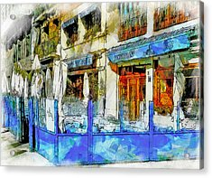 Port Vell Seafood Place In Barcelona Acrylic Print