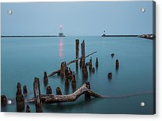 Port Washington Harbor Acrylic Print