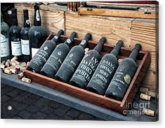Port Wine Acrylic Print by John Rizzuto