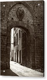 Porta Florentina Acrylic Print