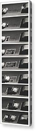 Portable Parking Space Acrylic Print by Blue Sky