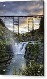 Portage Bridge Acrylic Print
