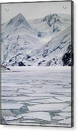 Portage Lake Acrylic Print