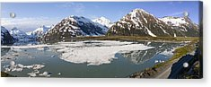 Portage Lake Panorama Acrylic Print by Tim Grams