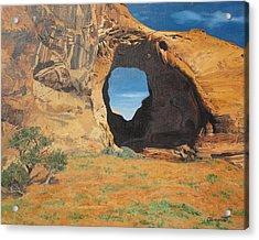 Portal At Window Rock  Acrylic Print