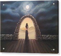 Portal Acrylic Print by Edwin Alverio