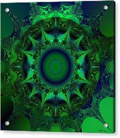 Portal Acrylic Print by Elizabeth McTaggart