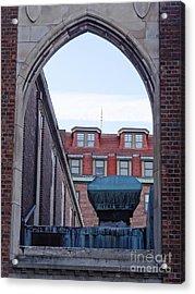 Portal Acrylic Print by John Velasquez