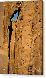 Acrylic Print featuring the photograph Portal Through Stone by Jeff Kolker