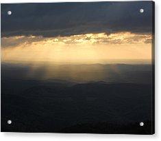 Portal To Heaven On The Blue Ridge Parkway Acrylic Print