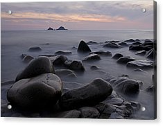 Porth Nanven In Cornwall Acrylic Print