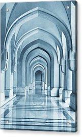 Portico Acrylic Print