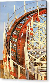 Portion Of Rollercoaster Acrylic Print