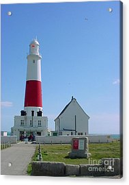 Portland Bill Lighthouse Acrylic Print by Terri Waters