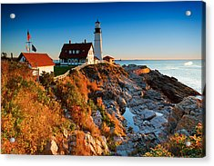 Portland Head Light 11 Acrylic Print by Emmanuel Panagiotakis