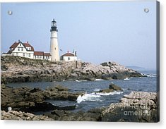 Portland Head Light Acrylic Print by ELDavis Photography