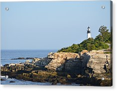 Portland Head Light In Summer Acrylic Print
