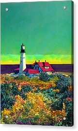 Portland Head Light V Acrylic Print
