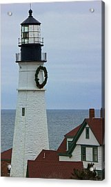 Acrylic Print featuring the photograph Portland Head Lighthouse by Amazing Jules