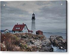 Portland Headlight 14456 Acrylic Print
