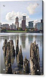 Portland Oregon Waterfront Acrylic Print
