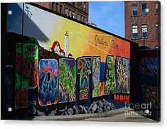 Acrylic Print featuring the photograph Portland by Paul Noble