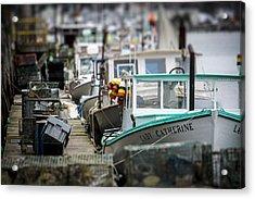 Portland Working Waterfront Acrylic Print