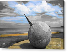Portmanuck Sphere Ireland Acrylic Print by Jo Collins
