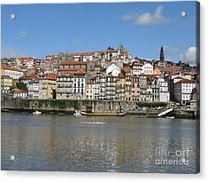 Acrylic Print featuring the photograph Porto by Arlene Carmel