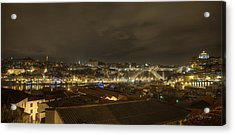 Porto Portugal From Taylor Winery Acrylic Print