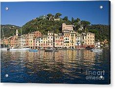 Acrylic Print featuring the photograph Portofino by Antonio Scarpi