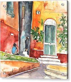 Portofino In Italy 02 Acrylic Print