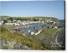 Portpatrick Harbour Acrylic Print